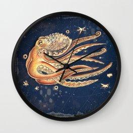 SPACEpolpo -   space octopus Wall Clock