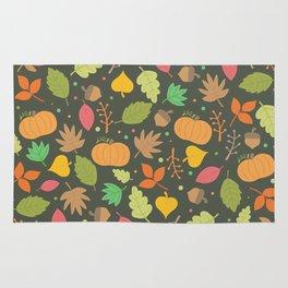 Thanksgiving pattern Rug