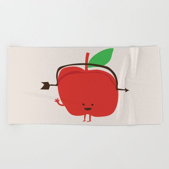 The Apple and The Arrow Beach Towel