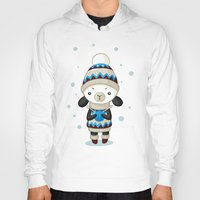 sheep Hoodies featuring Sheep by Freeminds