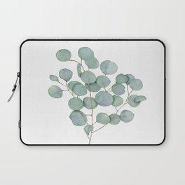 Eucalyptus 1 Watercolor Print by Liz Ligeti Kepler Laptop Sleeve
