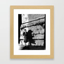 Dark Passenger Framed Art Print