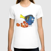 nemo T-shirts featuring Finding Nemo by Larissa