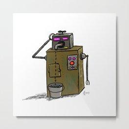 Leaky Faucet Metal Print