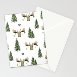 The Moose Wonderful Time - Pattern Stationery Cards