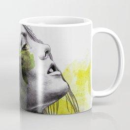 Burnt By The Sun | street art woman portrait with mandalas) Coffee Mug