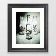 If You Could Bottle Dreams Framed Art Print