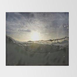 Drunken Pier Throw Blanket