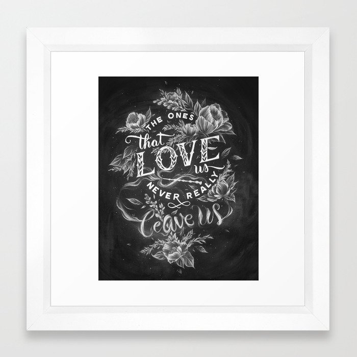 Harry Potter - The Ones That Love Us Framed Art Print by caseyligon ...