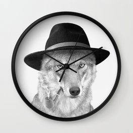 WOODY HUTSON Wall Clock