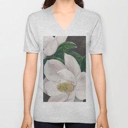 PawPaw's Magnolias Unisex V-Neck