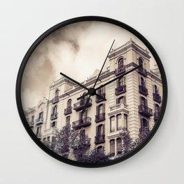 Architectural Wonder Wall Clock