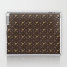 Louis Pug Face Luxury Dog Pattern Laptop & iPad Skin