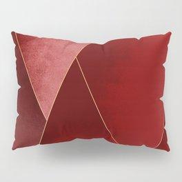 Crimson Tones Pillow Sham