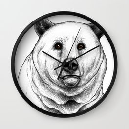Grizzly Bear 2 Wall Clock