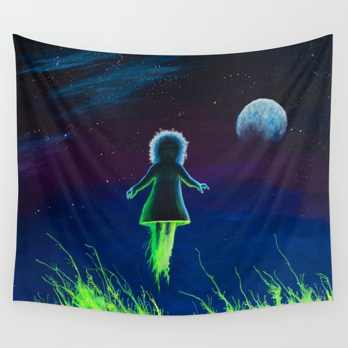 Dream Field Spectre Wall Tapestry