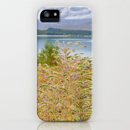 Field of Lupines iPhone Case
