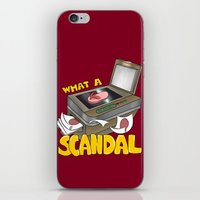 scandal iPhone & iPod Skins featuring Scandal by MinaLotToMe