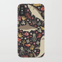 anna iPhone & iPod Cases featuring Oceanica by Anna Deegan