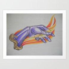 Fire Starter Art Print