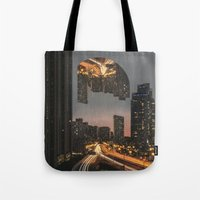 witchoria Tote Bags featuring Fever Dream by witchoria