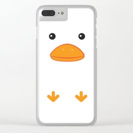 Duck Clear iPhone Case
