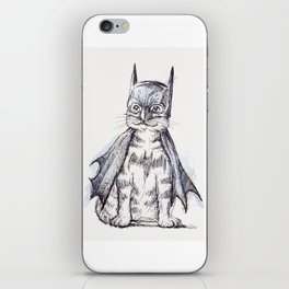 Bat Cat iPhone Skin