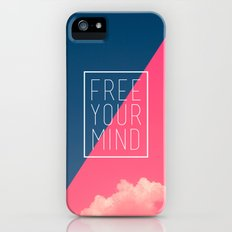 Free Your Mind III Slim Case iPhone (5, 5s)