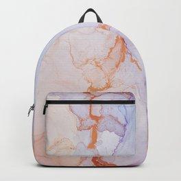 Pink luxury marble Backpack