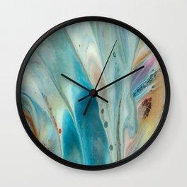 Pearl abstraction Wall Clock