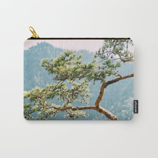 Sokolica Mountain Pine Tree Carry-All Pouch