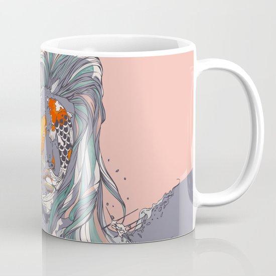 Koi and Raised Mug