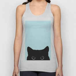Black cat I Unisex Tank Top