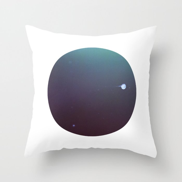 In another lonely universe Throw Pillow