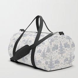 Hygge - Scandinavian Winter (grey) Duffle Bag