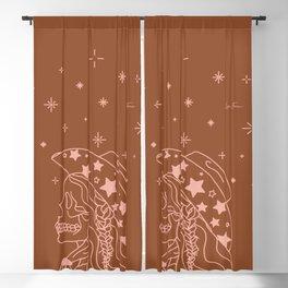 Love or Die Tryin' - Rhinestone Cowgirl - Rust & Peach Blackout Curtain