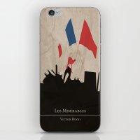 les mis iPhone & iPod Skins featuring Les Misérables by Abbie Imagine