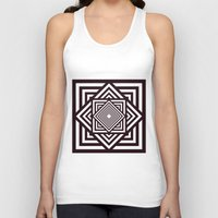 running Tank Tops featuring Running Out by Cs025
