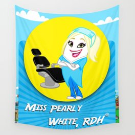 Miss Pearly White, RDH Wall Tapestry