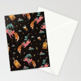 Where Beer Comes From (it's unicorns). Stationery Cards