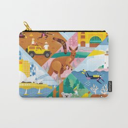 Travel To Australia Carry-All Pouch