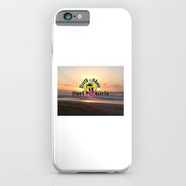 Surf Gilrs iPhone Case
