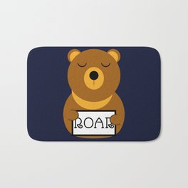 Hear the roar Bath Mat