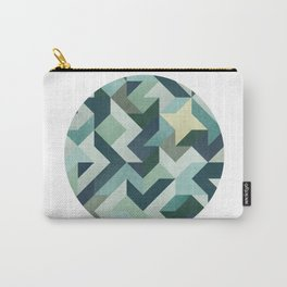 Circle Geometry Carry-All Pouch
