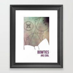Bowties Are Cool Framed Art Print