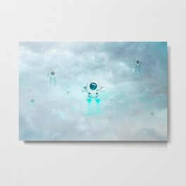 Flester Invaders Metal Print