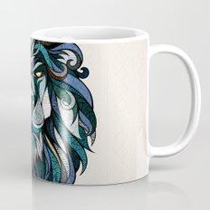 Blue Lion Mug