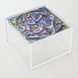 Cracking Under the Pressure Acrylic Box