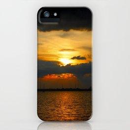 Sunset 070618 Abilene,Texas iPhone Case