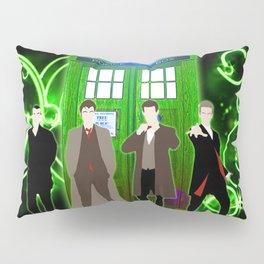 Tardis The Doctor Green Shine Gallifrey Pillow Sham